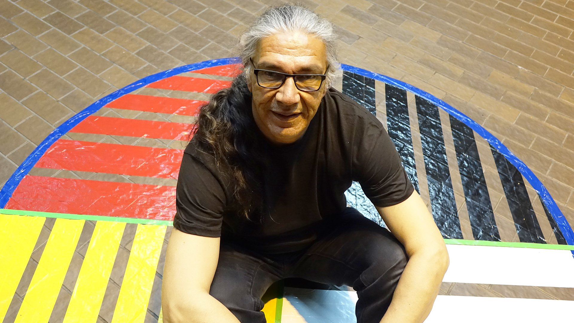 Jacques Newashish, artiste atikamekw