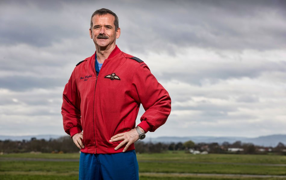 Chris Hadfield aux commandes d'une série documentaire